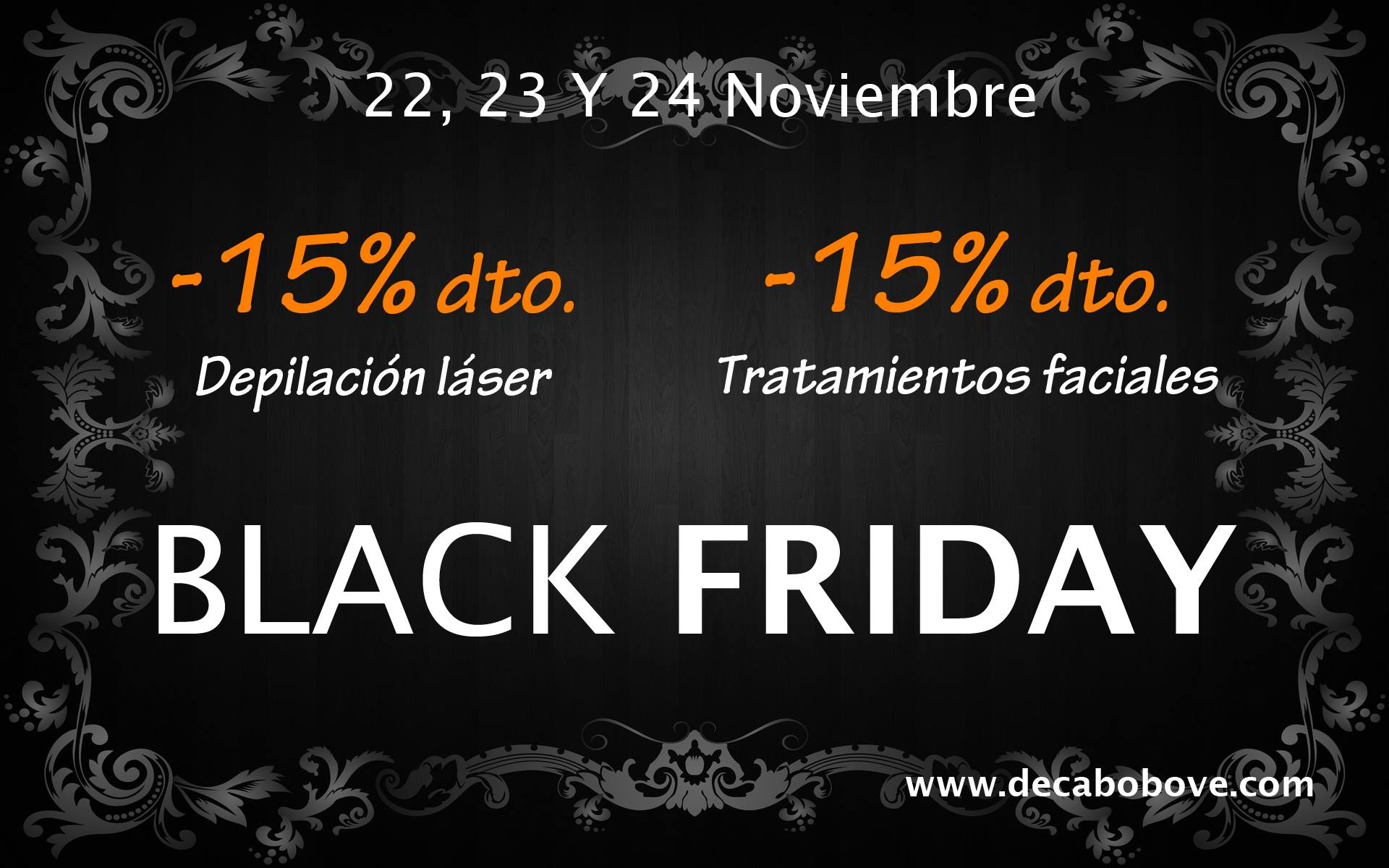 promocion black friday en decabobove.com