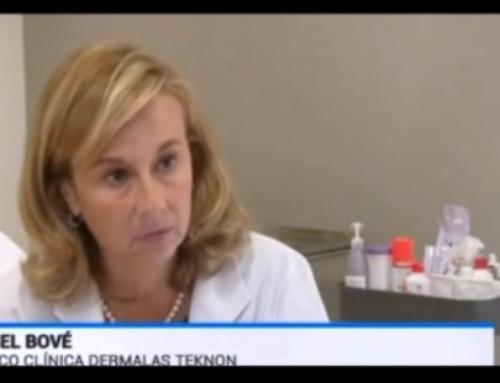La Dra. Bové en el telediario de TVE1