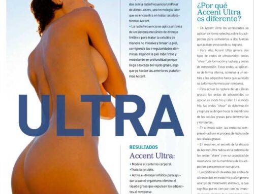 Revista Ultimate Beauty y Accent Ultra